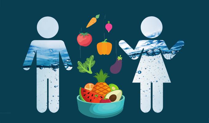 Bedste sundhedstip – spis grønt og få væske og næring